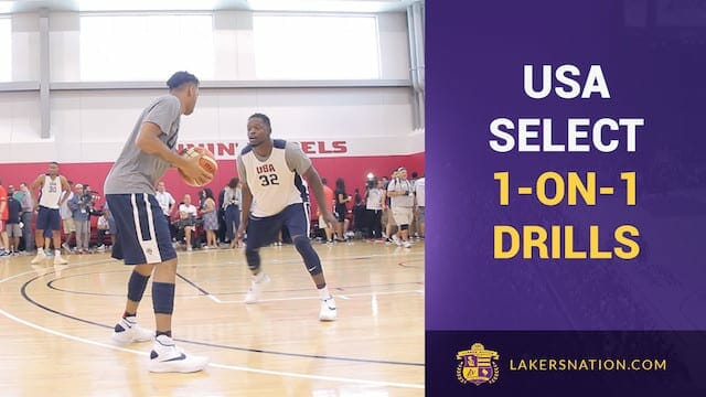 Video: Team Usa 1-on-1 Drills, Only 2 Dribbles (raw Footage)