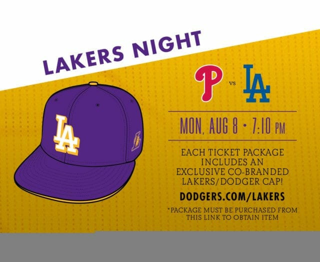 Los Angeles Dodgers Set To Host Lakers Night At Chavez Ravine