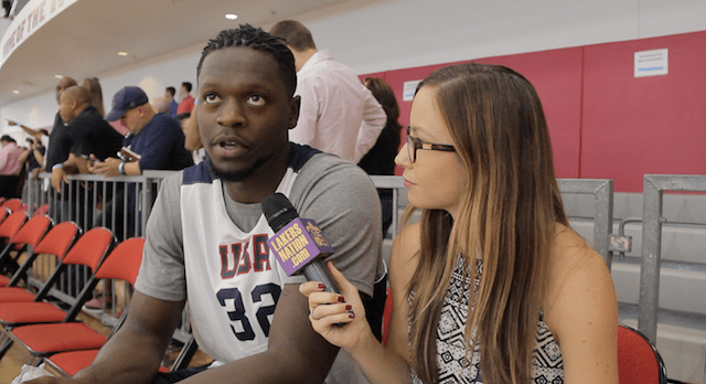 Interview: Julius Randle Talks Luke Walton, Brandon Ingram, Team Usa