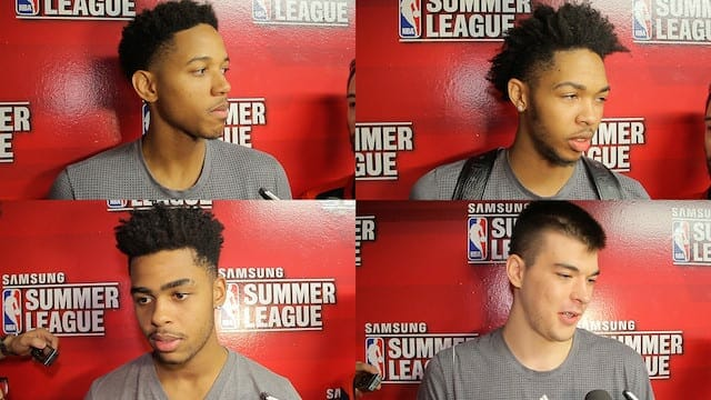 Summer League Videos: Lakers Undefeated Through Three Games