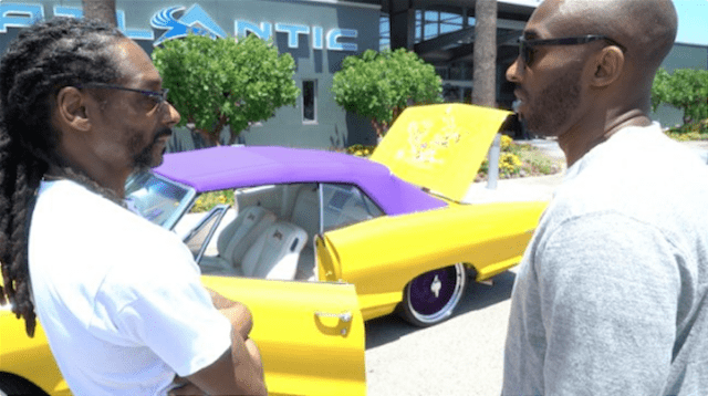 Lakers Legend Kobe Bryant Receives Retirement Gift From Snoop Dogg