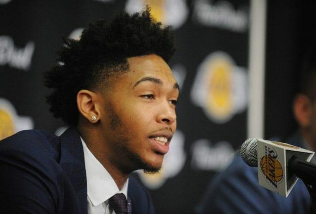 Lakers News: Brandon Ingram Likes Added 'pressure' Of Taking Kobe Bryant's Locker