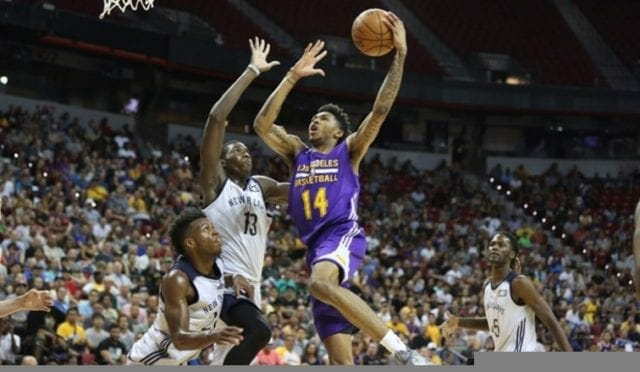 Young Lakers Put On A Show In Summer League Debut