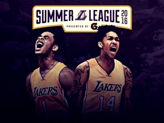 Lakers 2016 Summer League Schedule