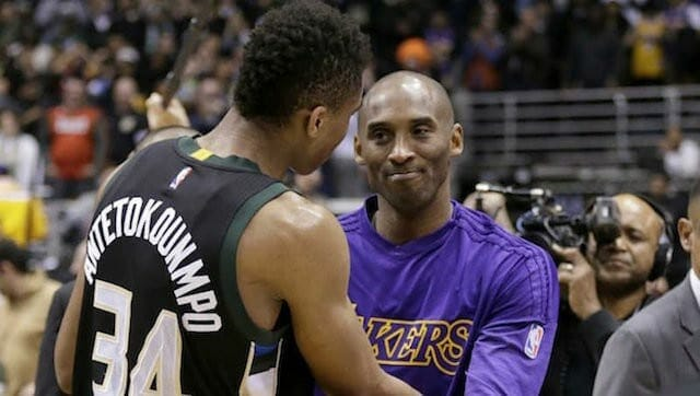 Giannis Antetokounmpo Shares What Kobe Bryant Told Him In Post-game Meeting