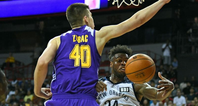 Video: Ivica Zubac Lakers Summer League Highlights