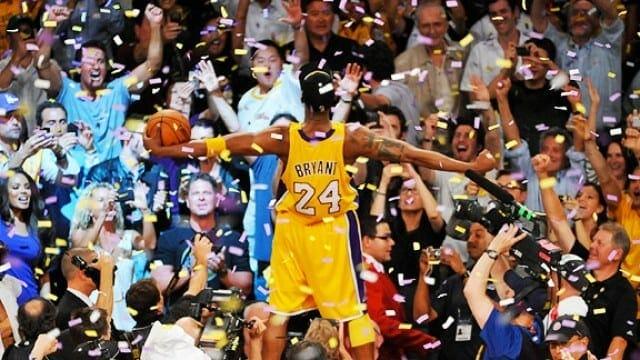 Kobe Bryant, Lakers, Celtics