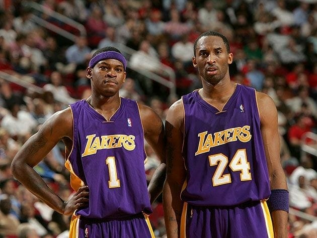 Kobe Bryant, Smush Parker, Lakers