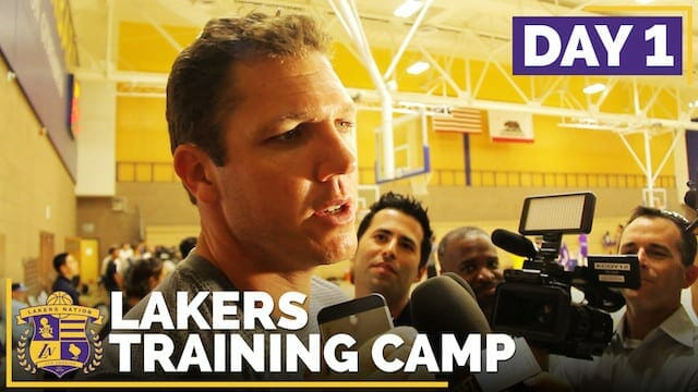 Lakers Training Camp 2016: Day 1