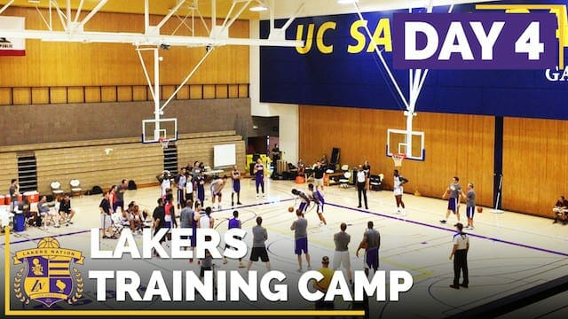 Lakers Training Camp: Day 4 (1-on-1 & 3-point Competition Video)