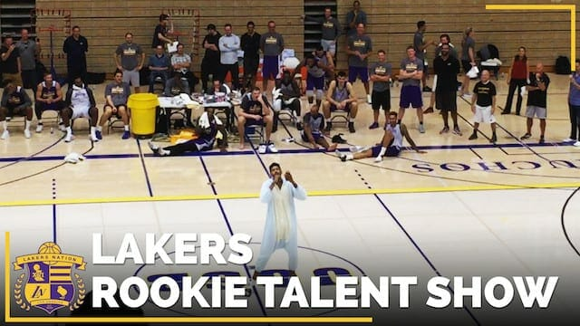 Video: Brandon Ingram, Ivica Zubac Sing At Lakers Rookie Talent Show