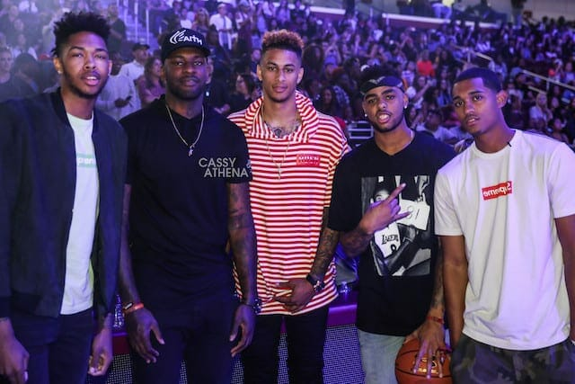 Lakers Young Core Coaches Power 106 All-star Game