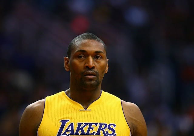 Lakers News: Metta World Peace Excited About Return To Team