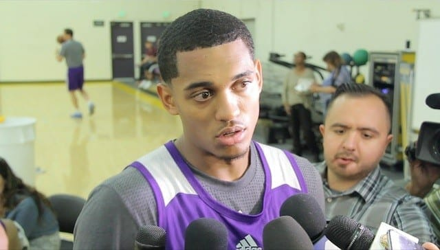 Lakers Practice: Jordan Clarkson's Thoughts On Coming Off The Bench