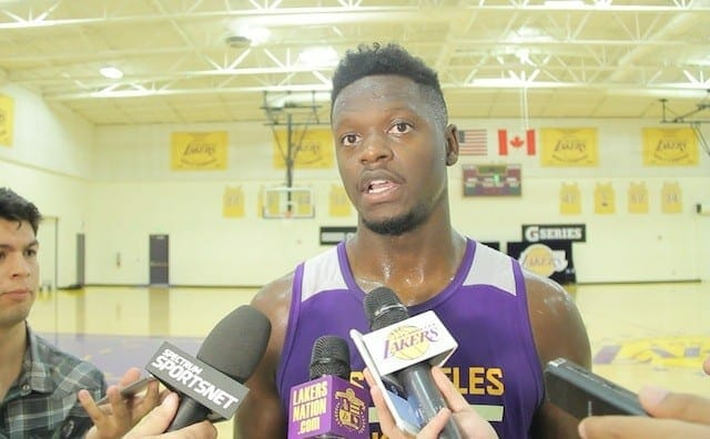 Lakers Practice: Julius Randle's Powerful Role
