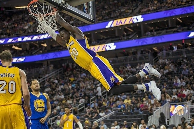 Preseason Recap: Warriors Starters Roll, Lakers Bench Closes Strong In 112-107 Loss