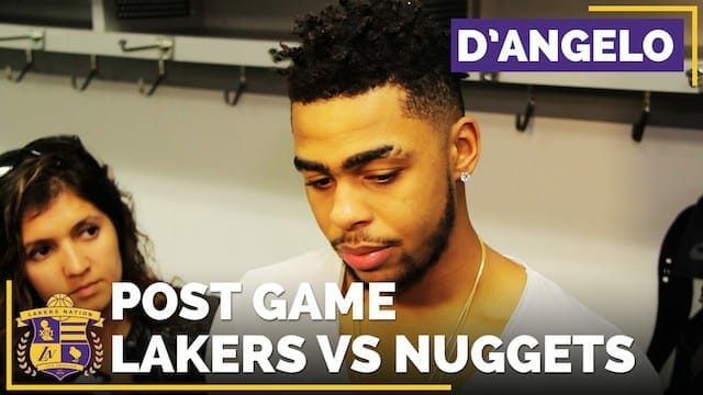 Los Angeles Lakers Vs. Denver Nuggets Postgame (videos)