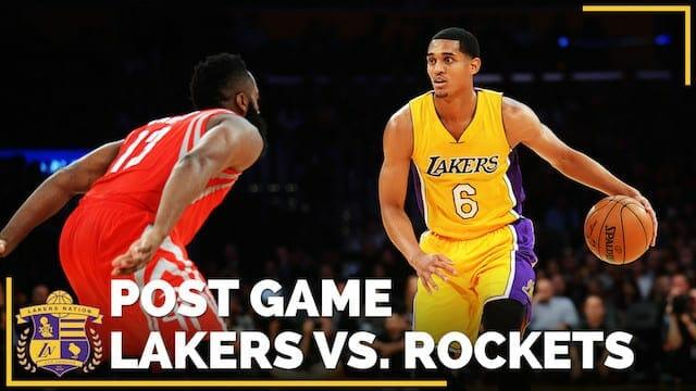 Los Angeles Lakers Vs. Houston Rockets Season Opener (videos)