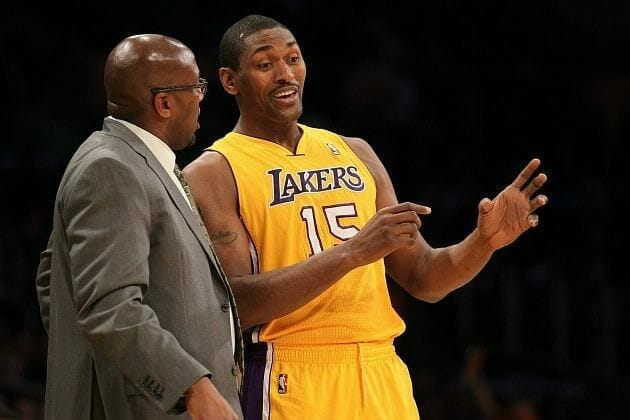 Lakers News: Metta World Peace Talks About Relationship With Mike Brown