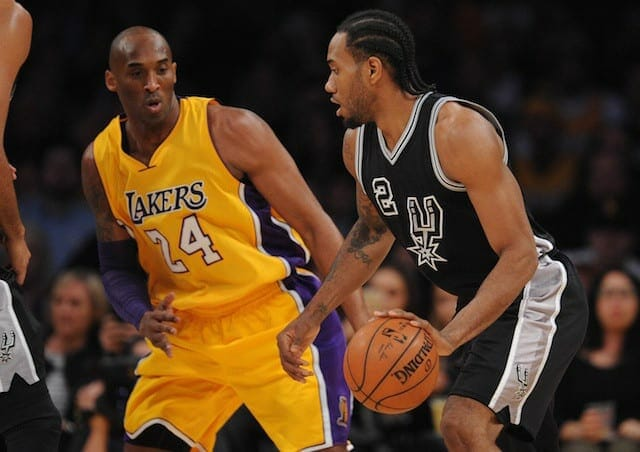 Demarcus Cousins Believes He Saw 'flashes Of Kobe' In Kawhi Leonard