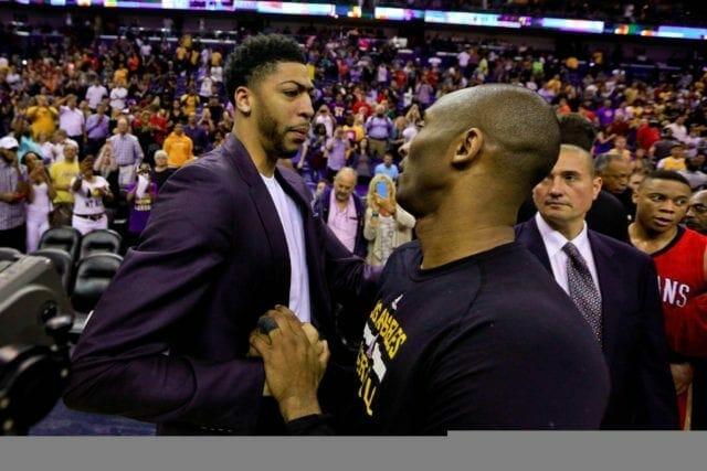 Anthony Davis, Kobe Bryant, Lakers