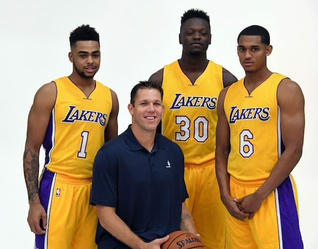 D'angelo Russell Feels 'something Special' With This Lakers Team
