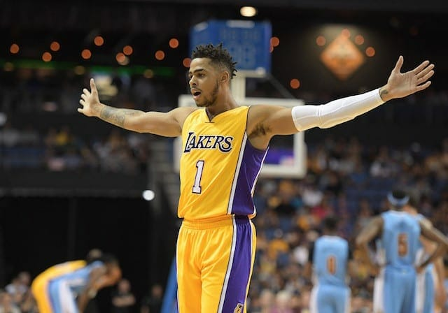 Preseason Recap: Lakers Surge Past Nuggets In Fourth To Win 124-115