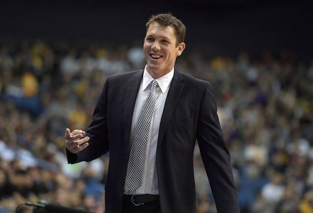 Luke Walton To Lakers' Open Shooters: 'i Want You To Shoot It'