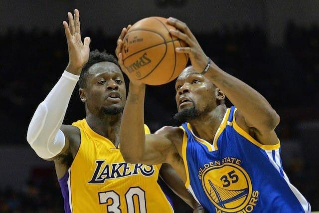 Preseason Recap: Lakers Fall To Warriors Despite Brandon Ingram's Big Night