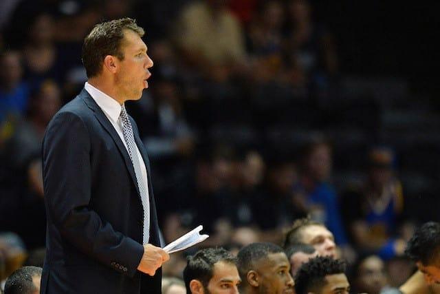Lakers News: Phoenix Suns Coach Earl Watson Has High Praise For Luke Walton