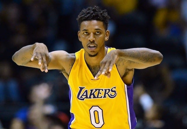 Lakers Teammates Calling Nick Young 'bruce Bowen' In Practice For His Defense