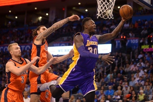 Game Recap: Lakers Fall To Thunder In Oklahoma City