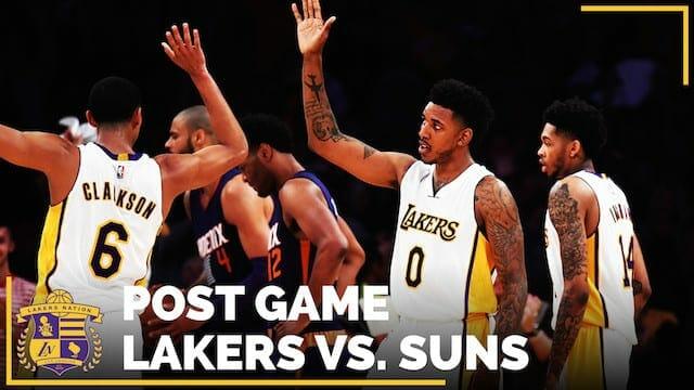 Los Angeles Lakers Vs. Phoenix Suns Postgame (videos)