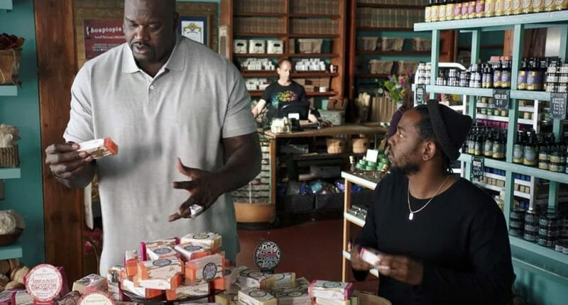 Video: Shaquille O'neal, Kendrick Lamar Star In American Express Commercial
