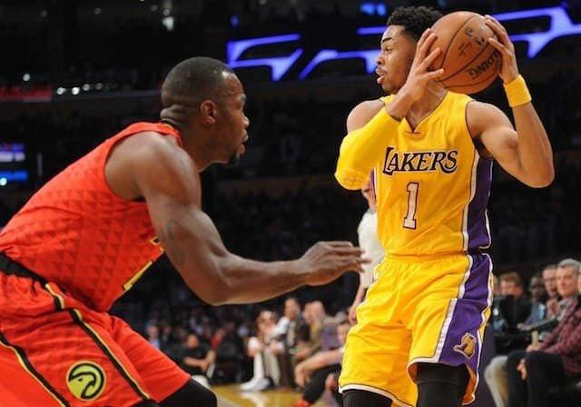 Lakers Vs. Hawks Preview: L.a. Hopes To End Road Trip With A Win