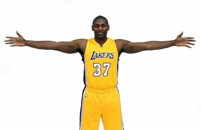 Lakers Using Metta's 'i Love Basketball' Motto To Break Huddles