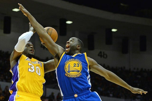 Draymond Green On Lakers: 'that's A Young And Hungry Team'