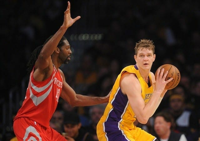 Lakers Centers Are Beginning To Make A Statement