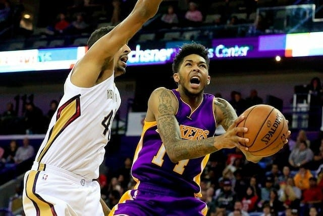 Lakers Nation Podcast: Lakers Win Big In New Orleans, Time To Worry About Luol Deng?