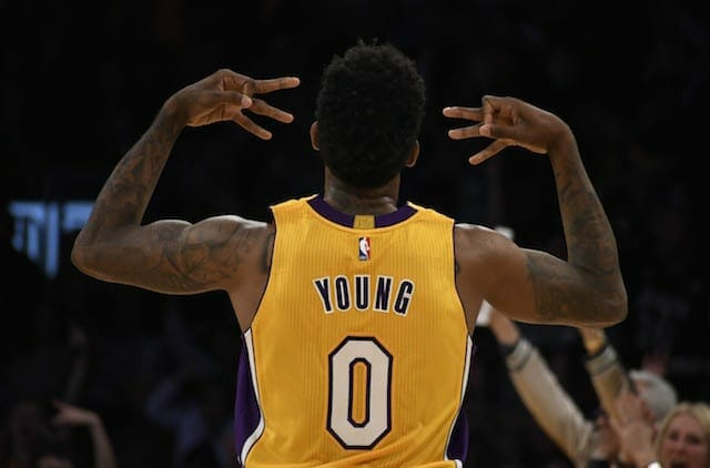 Nick Young, Lakers