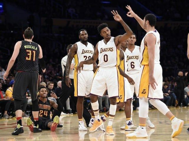 Game Recap: Lakers Pull Away In Second Half Against Hawks