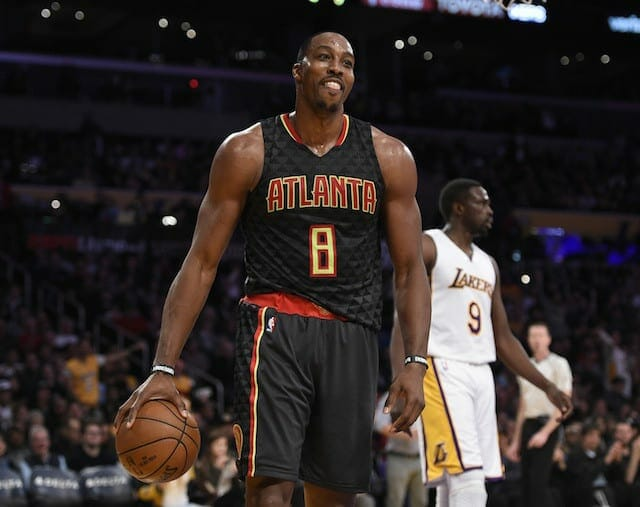 Video: Dwight Howard Challenges Lakers Fan To Fight After Game