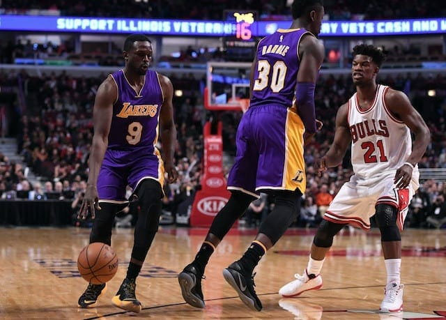 Game Recap: Lakers Grind Out Ugly Win In Chicago