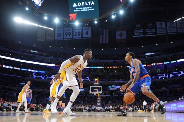 Lakers News: Julius Randle Calls Defensive Issues 'embarrassing'