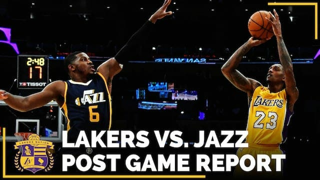 Los Angeles Lakers Vs. Utah Jazz Postgame (videos)