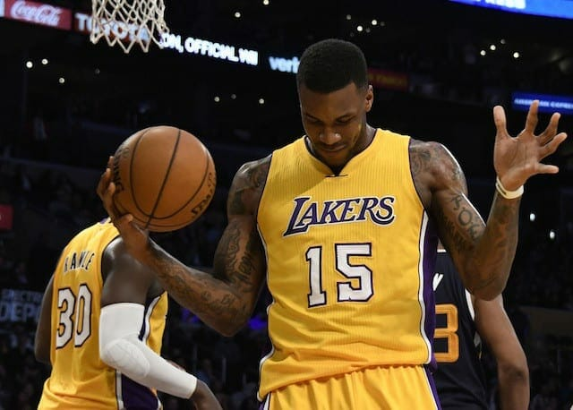 Game Recap: Short-handed Lakers Come Up Short Against Jazz