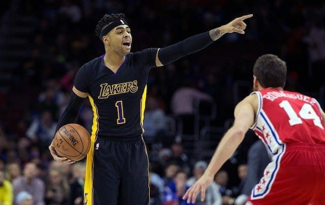 Lakers Highlights: Los Angeles Vs. Philadelphia 76ers