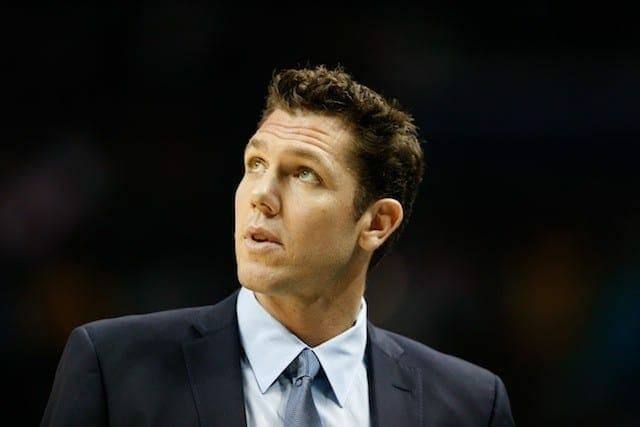 Lakers News: Shaquille O'neal Calls Luke Walton 'only Rookie' He Never Hazed