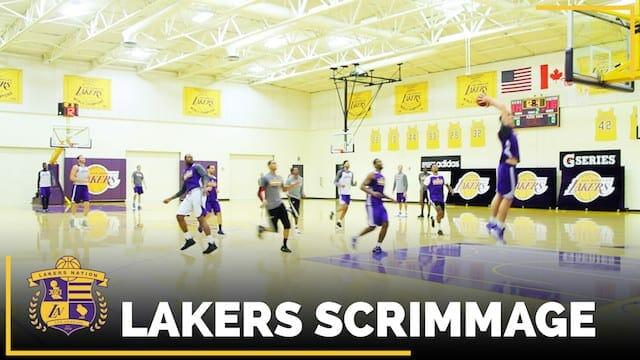 Video: Lakers Rookies Ivica Zubac, Brandon Ingram Trade Slam Dunks