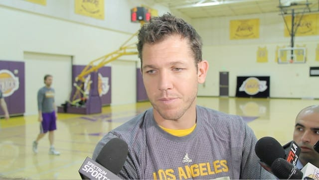 Luke Walton Fully Committed To Development Of Lakers Youth